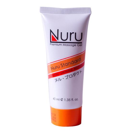 Nuru standard (นูรุ สแตนดาร์ด) เจลนวดตัวสำหรับบุรุษและสตรีให้ความลื่น นุ่มนวลในการนวด ขนาด 40 มล.