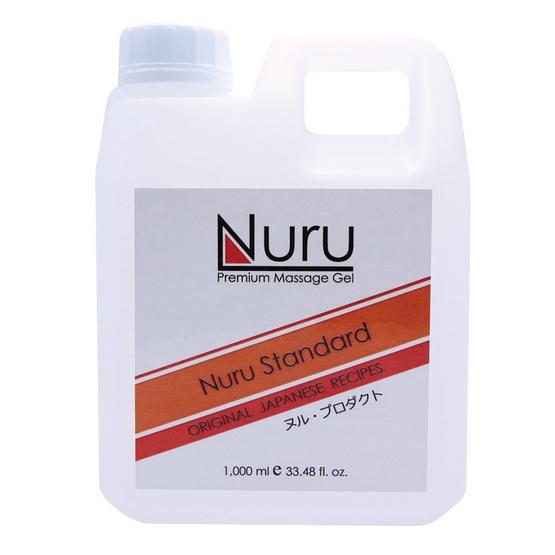 Nuru standard (นูรุ สแตนดาร์ด) เจลนวดตัวสำหรับบุรุษและสตรีให้ความลื่น นุ่มนวลในการนวด ขนาด 1000 มล.