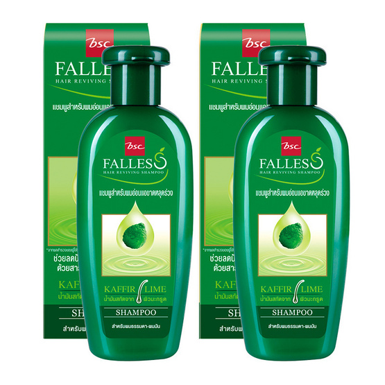 Falless Hair Shampoo 180ml Pack2 #สูตรผมแข็งแรงสุขภาพดี