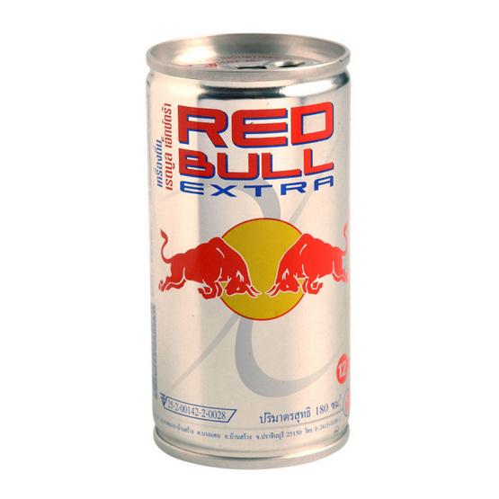 Redbull เรดบูล เอ็กซ์ตร้า (กระป๋อง) ขนาด 170 มล. (ขายยกลัง 24 ชิ้น)