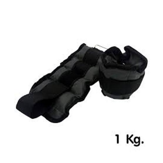 Thai Sports ปลอกน้ำหนัก รัดข้อมือ/ข้อเท้า น้ำหนัก 1 กก./คู่ สีเทา รหัสสินค้า E1X0N708A1