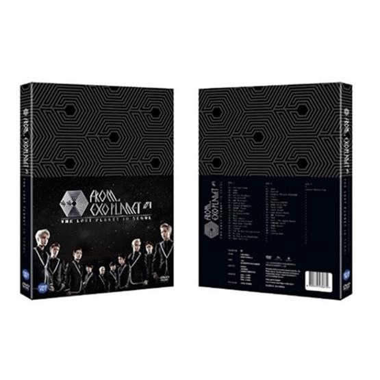 DVD EXOPLANET #1 THE LOST PLANET [LOCAL]