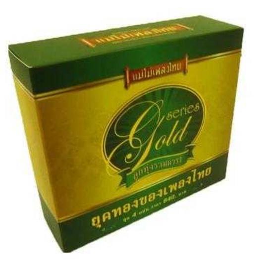 Box Set แม่ไม้เพลงไทย ชุดลูกทุ่งรวมดารา Gold disk 4 แผ่น