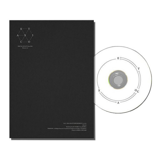 CD EXO EXACT monster (Ver.เกาหลี)