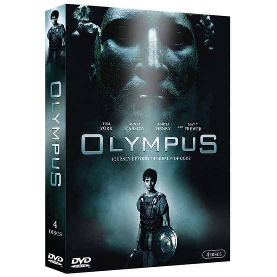 DVD Olympus (Box Set 4 Disc)