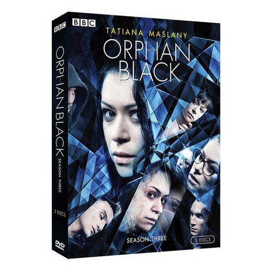 DVD Orphan Black Season Three (DVD Box Set 3 Disc)