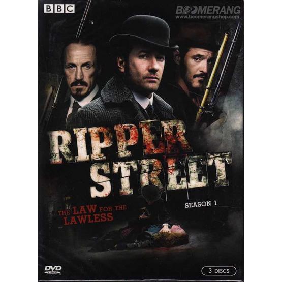 DVD Ripper Street: Season One (DVD Box Set 3 Disc)