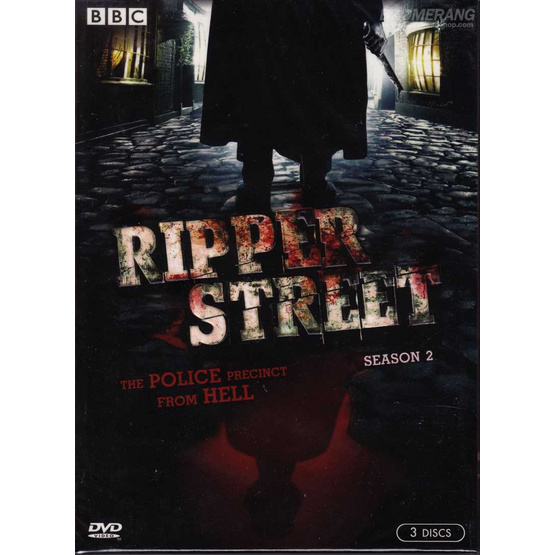 DVD Ripper Street: Season Two (DVD Box Set 3 Disc)