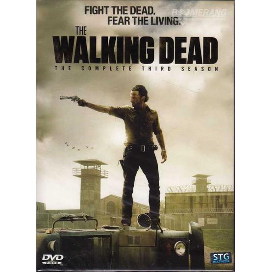 DVD Walking Dead, The: The Complete Third Season (DVD Box Set 5 Disc)