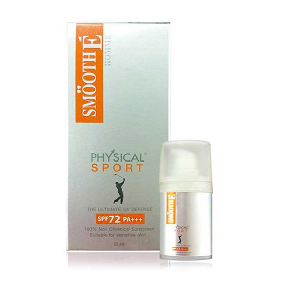 Smooth E ครีมกันแดด Baby Face Physical Sport SPF50 PA+++ 20 มล.