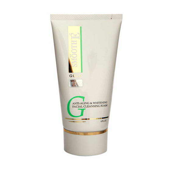 Smooth E GOLD Anti Aging & Whitening Facial Cleansing Foam 4oz