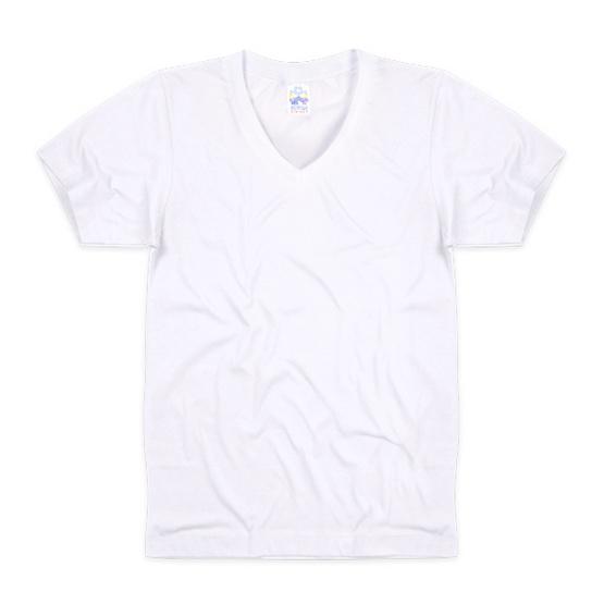 Double Goose 215 เสื้อคอวีสีขาว Pack 3 รุ่น Original