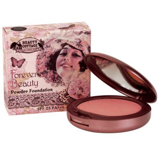 Beauty Cottage Forever Beauty Powder Foundation SPF 25 PA+++ 01