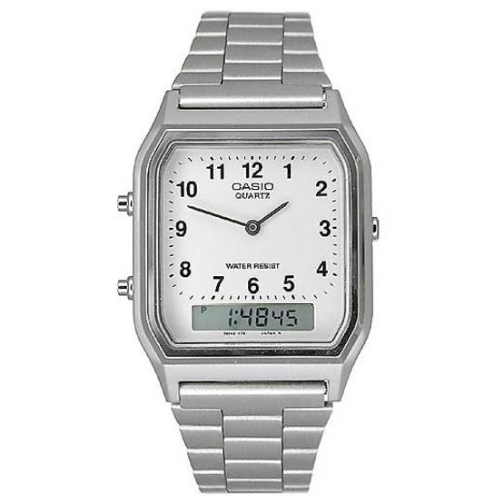 CASIO นาฬิกาข้อมือ รุ่น AQ-230A-7B