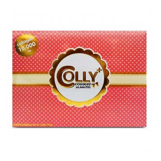 Colly Collagen ผลิตภัณฑ์เสริมอาหารคอลลี่ คอลลาเจน 10,000 mg. ขนาดบรรจุ 15 ซอง