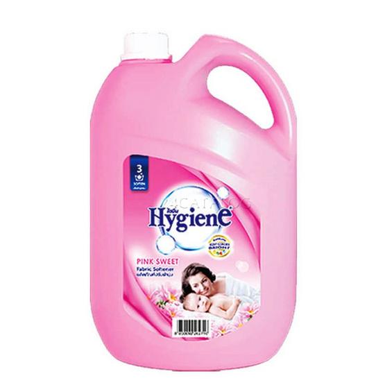 ไฮยีน ผลิตภัณฑ์ปรับผ้านุ่ม กลิ่นพิ้ง สวีท 3,500 มล. สีชมพู