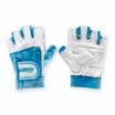 Grizzly Fitness WOMEN PAWS BLUE ถุงมือหนังแท้ สีฟ้า