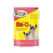 Me-O อาหารเปียกแมว รสปลาซาร์ดีนและกระพงในเยลลี่ ขนาด 80 ก. (12 ถุง)