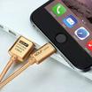 Golf Lightning Metal USB Cable