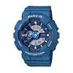 Baby-G นาฬิกาข้อมือ Analog-Digital รุ่น BA-110DC-2A2DR