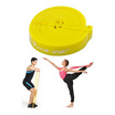 a bloom ยางยืดออกกำลังกาย แบบวงกลม Pull Up Resistance Band Exercise Loop 25-50 lbs สีเหลือง