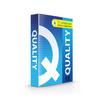 Quality กระดาษถ่ายเอกสาร A4 70แกรม น้ำเงิน (5 รีม/กล่อง)