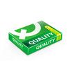 Quality กระดาษถ่ายเอกสาร A4 80แกรม เขียว (5 รีม/กล่อง)