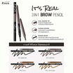 MALISSA KISS It's Real 3in1 Brow Pencil #03 COCOA