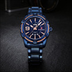 Naviforce นาฬิกา รุ่น NF9117M สีน้ำเงิน