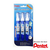 Pentel ปากกาลบคำผิด ZL62-WBP ขนาด 7 มล. (แพ็ค 2 แถม 1)