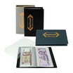 Robin สมุดเก็บธนบัตร No.160 คละสี (แพ็ค 3 เล่ม)