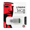 Kingston Flash Drive USB3.1 Gen1 DT50 16 GB