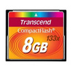 TRANSCEND CF CARD 133x CompactFlash (Standard) 8GB