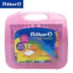 Pelikan สีชอล์คน้ำมัน แท่งหกเหลี่ยม 48 สี (แถมสีสะท้อนแสง 2 สี + กล่องหิ้ว)