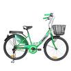 """จักรยานแม่บ้าน รุ่น ซิตี้ ล้อเหล็ก 24"""""""