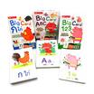 ชุด Big Card เรียนรู้ ก ไก่ ABC 123 (3 กล่อง)