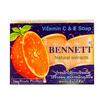 เบนเนท สบู่วิตามินซีแอนด์อี ส้ม (แพ็ก 4 ก้อน)