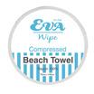 EVA Wipe อีวา ไวพ์ ผ้าเช็ดตัว อัดเม็ด ขนาด 70 x 140 ซม. บรรจุ 1 ชิ้น/ซอง