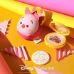Cathy Doll Disney Tsum Tsum CC Powder Pact SPF40 PA+++ 12 g #21 Light Beige (Tigger)