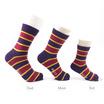 PALLY ถุงเท้า Family Socks Set Weight 120 grams Block Stripe