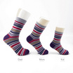 PALLY ถุงเท้า Family Socks Set Weight 120 grams Multi-Stripe