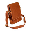 MOONLIGHT กระเป๋าสะพายหนังแท้ สำหรับผู้ชาย รุ่น Pro สีน้ำตาลอ่อน