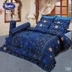 Satin ชุดผ้าปูที่นอน6ฟุต6ชิ้น 720