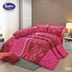 Satin ผ้านวม + ผ้าปูที่นอน ลาย D68