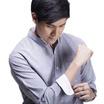 Quattro เสื้อเชิ้ตแขนยาว ChineseCollar