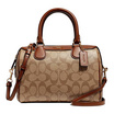 กระเป๋า COACH F32203 MINI BENNETT SATCHEL IN SIGNATURE CANVAS (IME74) [MCF32203IME74]