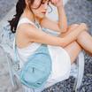 FOUVOR กระเป๋าคาดอก รุ่น 2800-16 สีเทอควอยซ์
