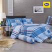 Satin ผ้าปูที่นอน ลาย D107