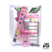 V.S Stationery ชุดเครื่องเขียน Sailor moon คละสี (8ชิ้น/ชุด)