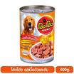 Hong Hong โฮ่ง โฮ่ง อาหารเปียกสุนัข รสเนื้อวัวและตับ 400 กรัม
